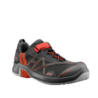 HAIX CONNEXIS Safety T S1 low grey-red
