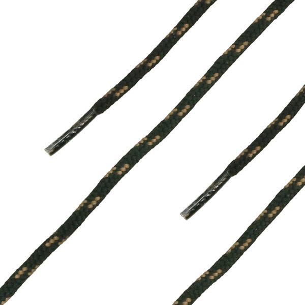 HAIX Schnürsenkel rund schwarz-braun