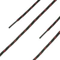 HAIX Schnürsenkel RWA schwarz - rot