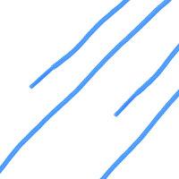 HAIX Schnürsenkel Safety mid blau