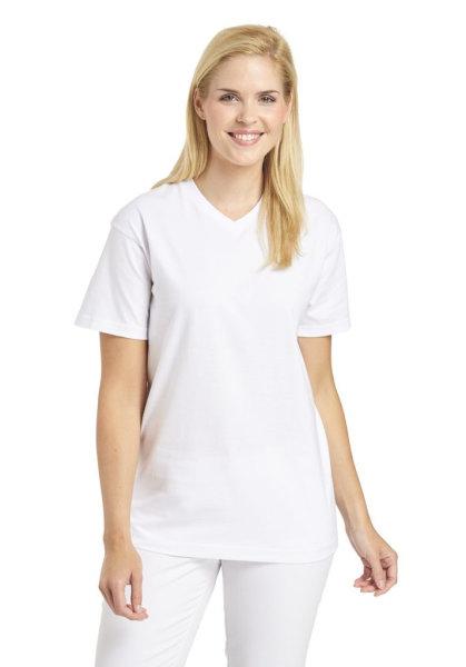 Leiber Unisex T-Shirt 1/2 Arm V-Ausschnitt