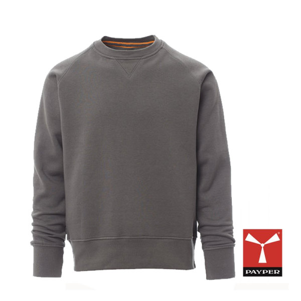 "Payper Sweatshirt ""MISTRAL+"" rauchgrau"